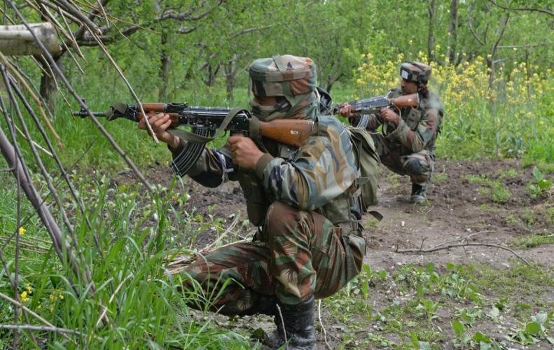Two militants killed as security forces foil infiltration bid in Machil