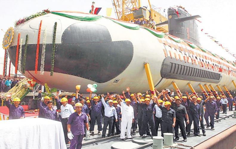 'Kalwari' is included in the Indian Navy