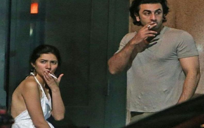 Ranbir and Mahira  caught  together in NYC and their photos are going Viral