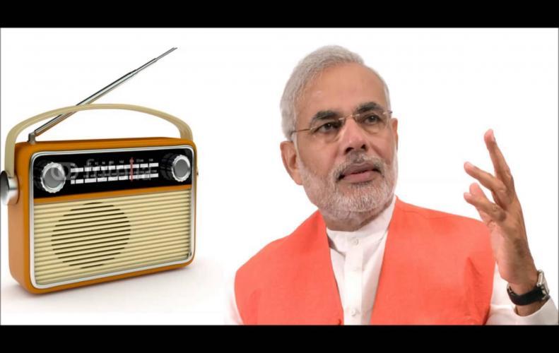 Narendra Modi says politics out of Mann Ki Baat