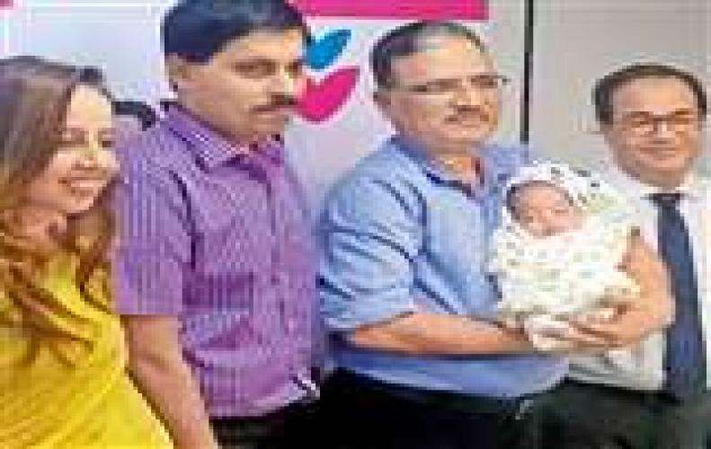 India's youngest kid born in 5 months