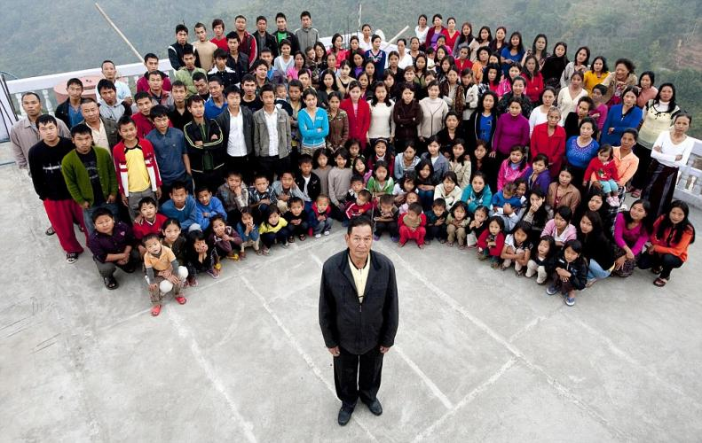 This man of Mizoram has 39 wives and 94 children
