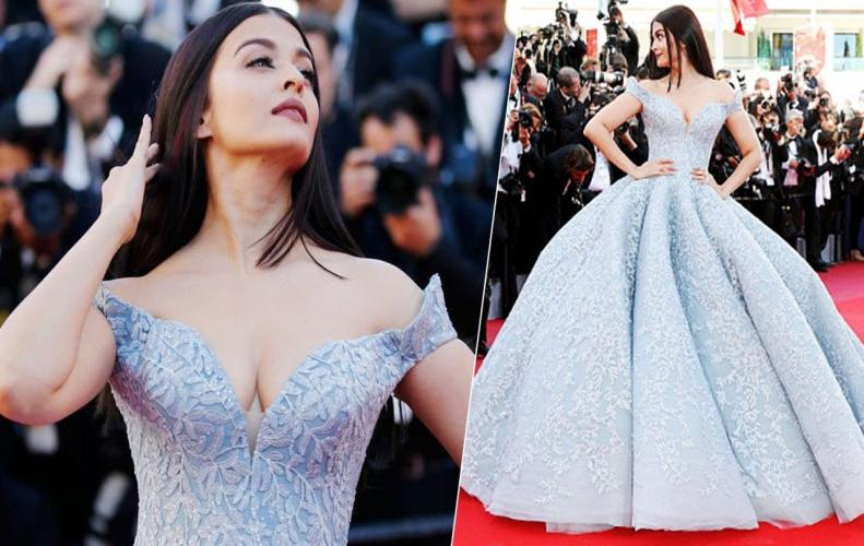 AISHWARYA RAI BACHCHAN'S JOURNEY OVER THE YEARS AT CANNES.