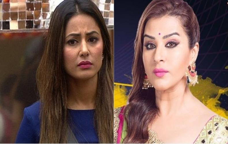 Cold war between Benafsha and Hena  Hina Khan has already become ...