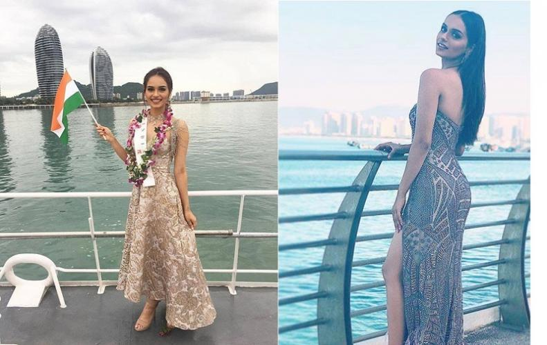 Meet a proud Indian at miss Universe Contest  Manushi Chhillar created the story