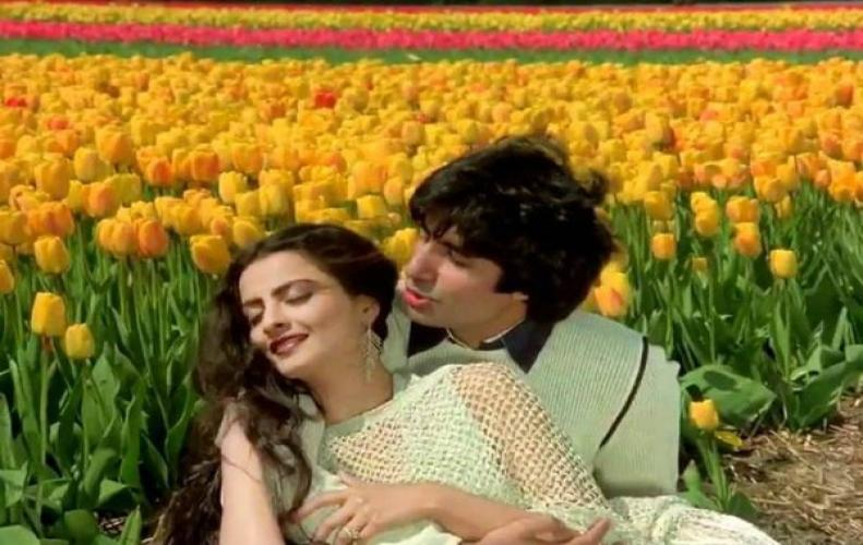REKHA AND AMITABH(ASTORY THAT CAN JUST BE A RUMOR)
