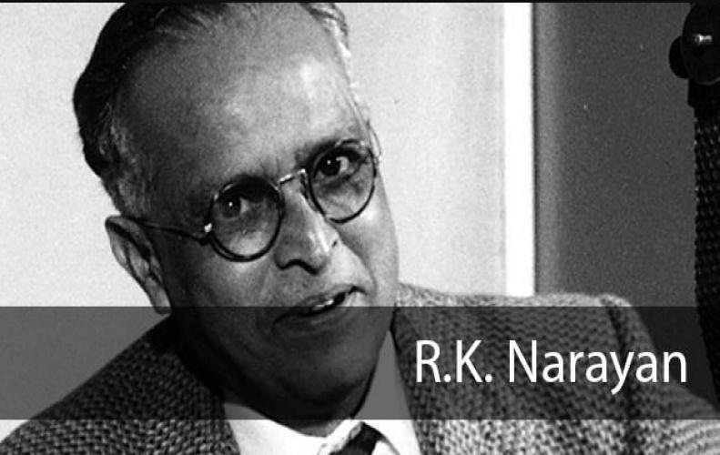 R. K. Narayan (1906-2001) writer