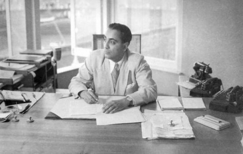 Homi Bhabha (1909-1966) nuclear physicist