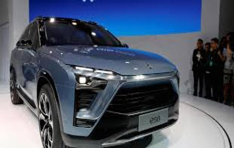 Nio uncovered as rival electric car to Tesla