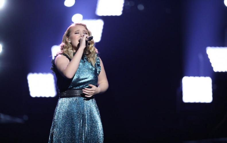 Chloe  Kohanski winner of The Voice season 13.
