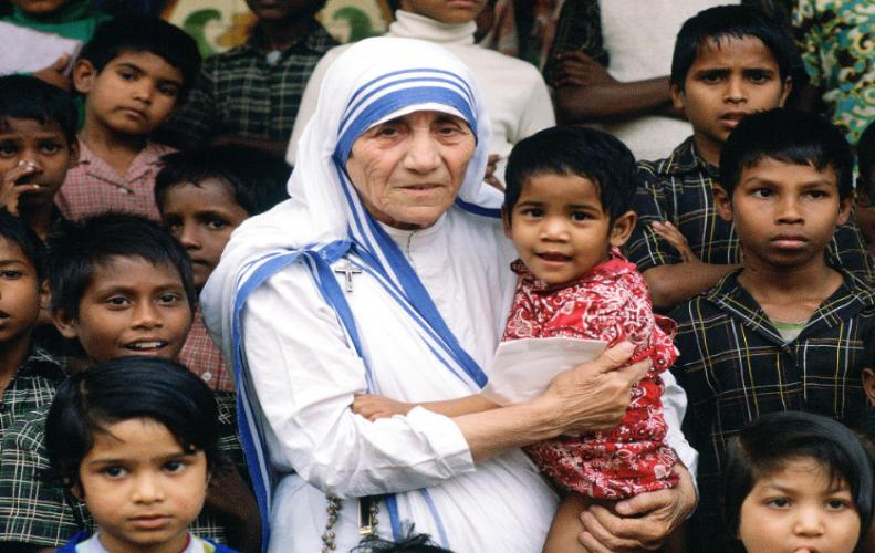 Mother Teresa (1910-1997) nun and missionary