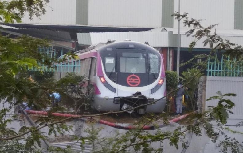 Magenta line In Delhi Metro Inaugurated by  P.M. Narendra Modi .