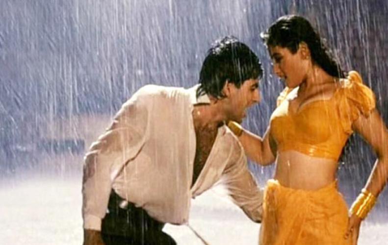Akshay Kumar & Raveena Tondon Secret Engagement
