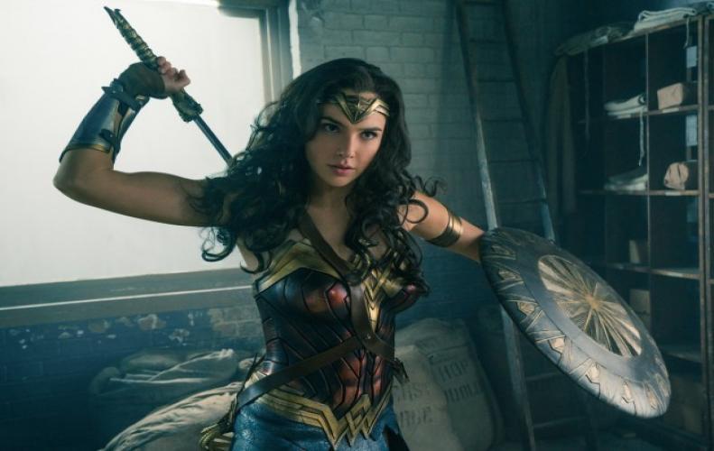 The 3 female superhero legacy- Cat woman, Black widow and Wonder Woman