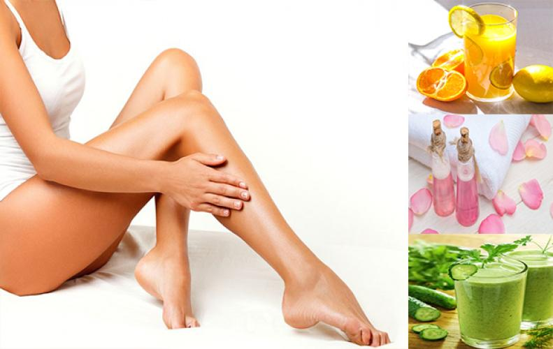 How to get rid of the leg pores