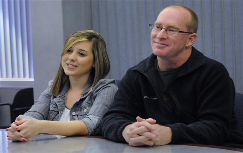 Brenton Wuchae(40) coached Windy(18) Hager at South Brunswick High School and married his student.