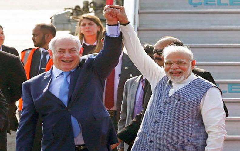 Israel President Benjamin Netanyahu quotes India-Israel relation as Marriage made in the Heaven.