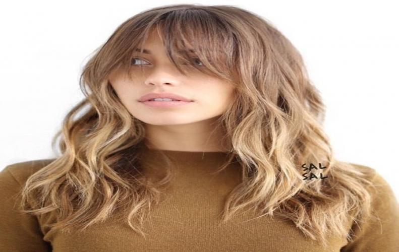 The Most  Stunning Hair Styles With Long Bangs