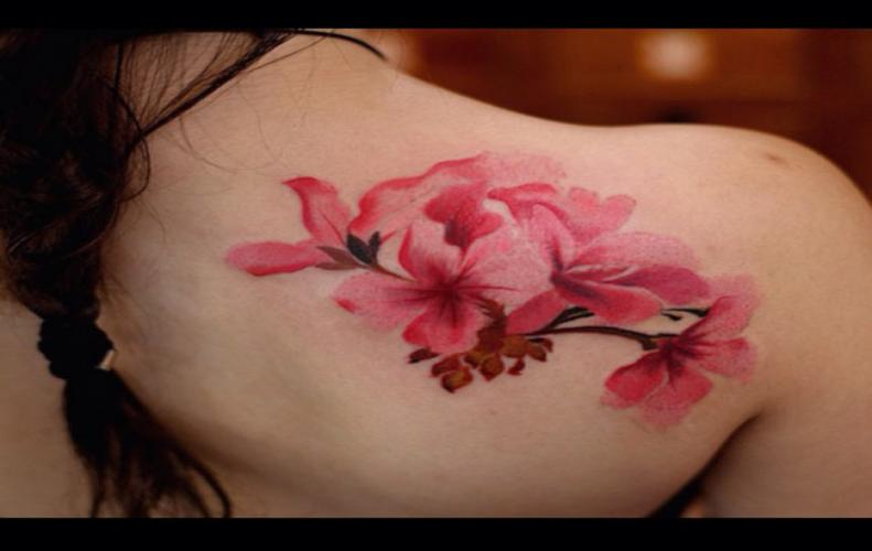 You Must Know The Cherry Blossom Tattoo Meaning