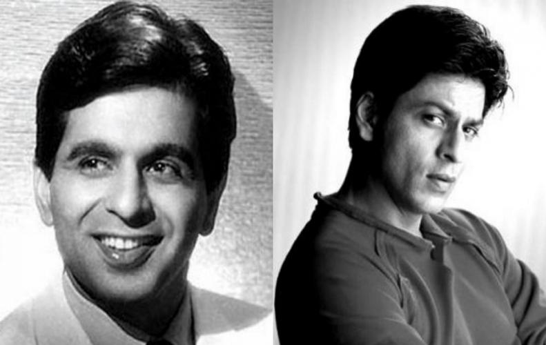 BONDING BETWEEN SHAHRUKH KHAN AND DILIP KUMAR