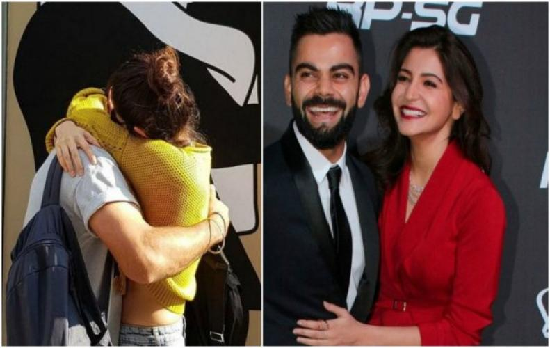 Virat Holding Anushka expressing his love in this pic is melting the internet