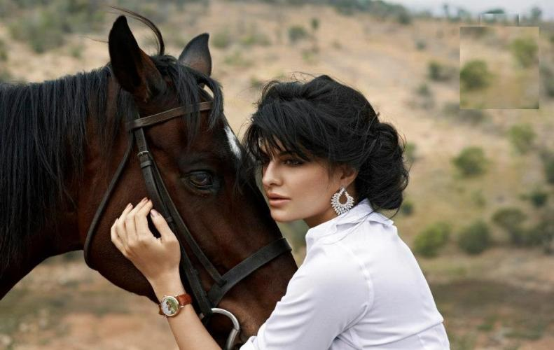 Jacqueline Fernandez digs up Horse Riding schedule after Mastering recreations like Playing Piano Pole Dancing and Painting.