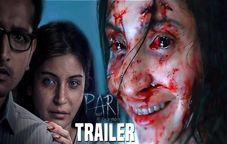 Anushka Sharma as Pari in Movie trailer sets the horror look at enhanced level.