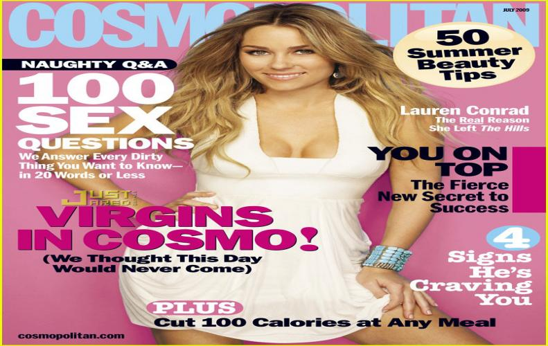 Cosmopolitan  Magazine will re eliminated from store giant Walmart's shelves
