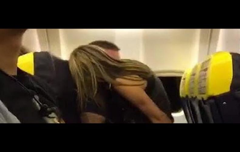 Watch:Couple video recorded doing unexpected in-flight
