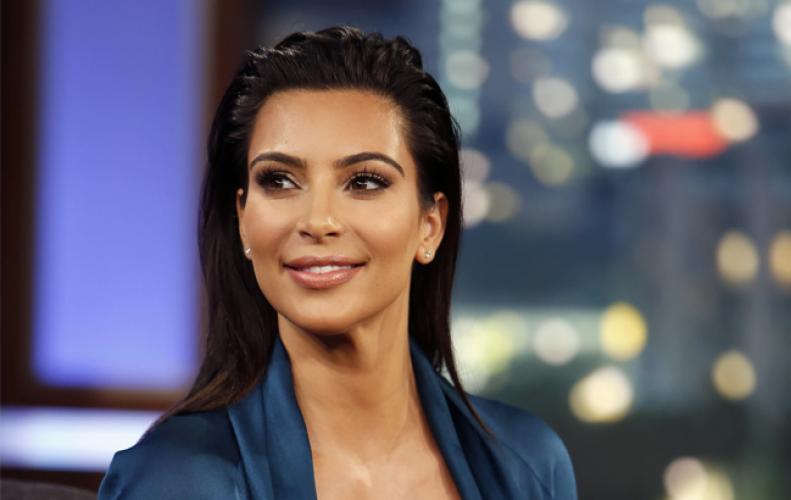 Kim Kardashian and Kayne West shared a rare family photograph