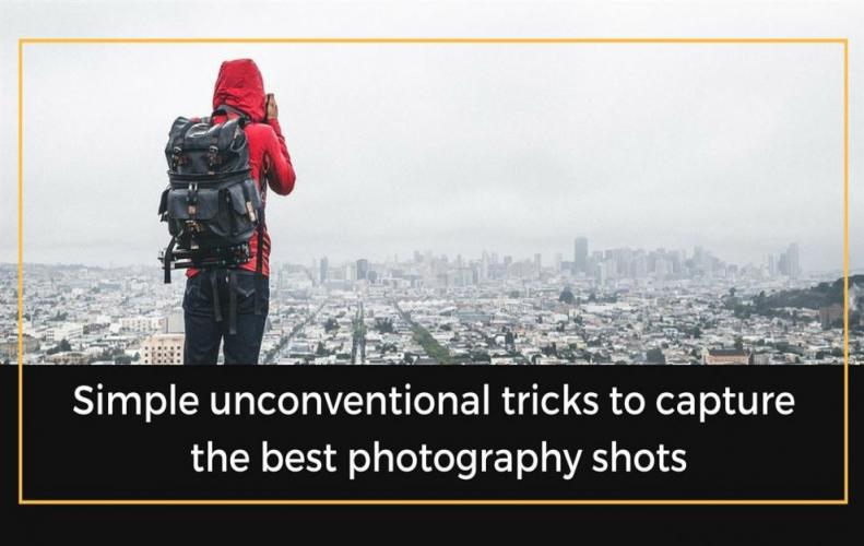 Amazing Photographic Tricks that will lead you to Professionalism