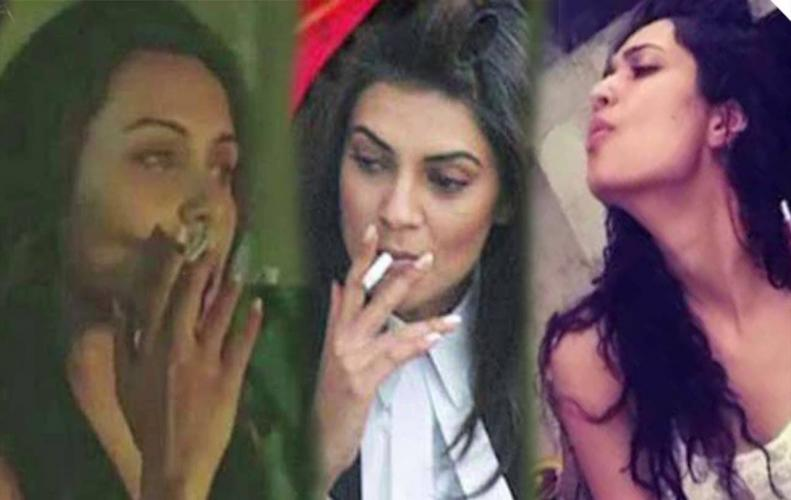 Bollywood Actresses Who Smoke in Real Life You Won't Believe