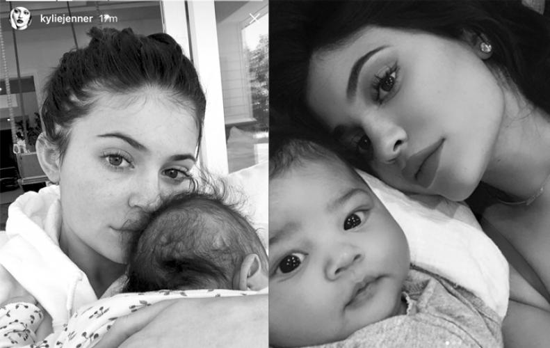 Kylie reveals inspiration behind daughter Stormi's Name, in sisterly sit-down with Kim Kardashian.