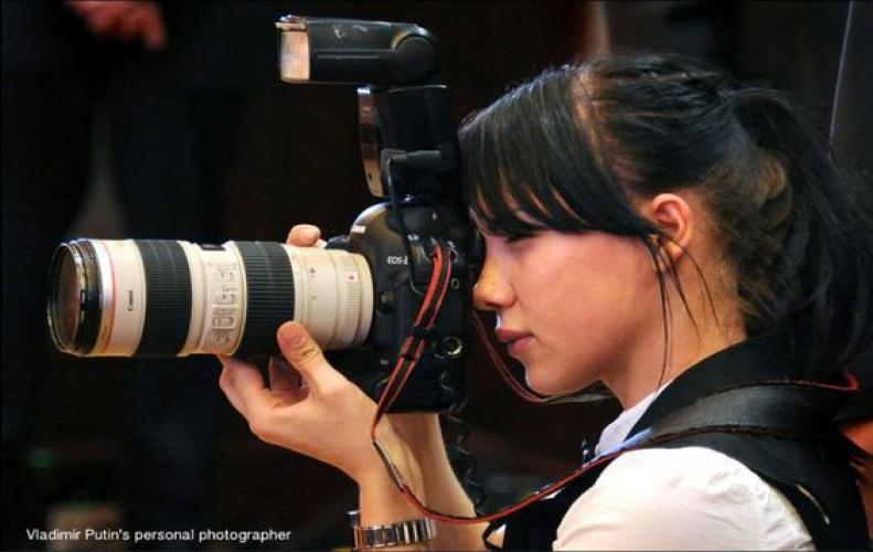 Meet, Yana Lapikova Russian PresidentVladmir Putin's Personal Hot Photographer, Posses Stunning Beauty