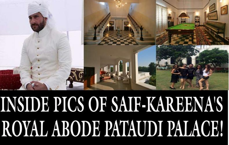 Inside Tour of Royal Pataudi Palace: Dream Home of Saif Ali Khan and Kareena Kapoor Khan