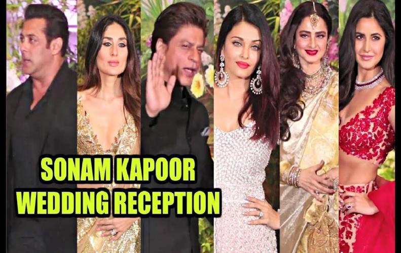 12  Best-dressed Bollywood celebs at Sonam Kapoor's wedding reception