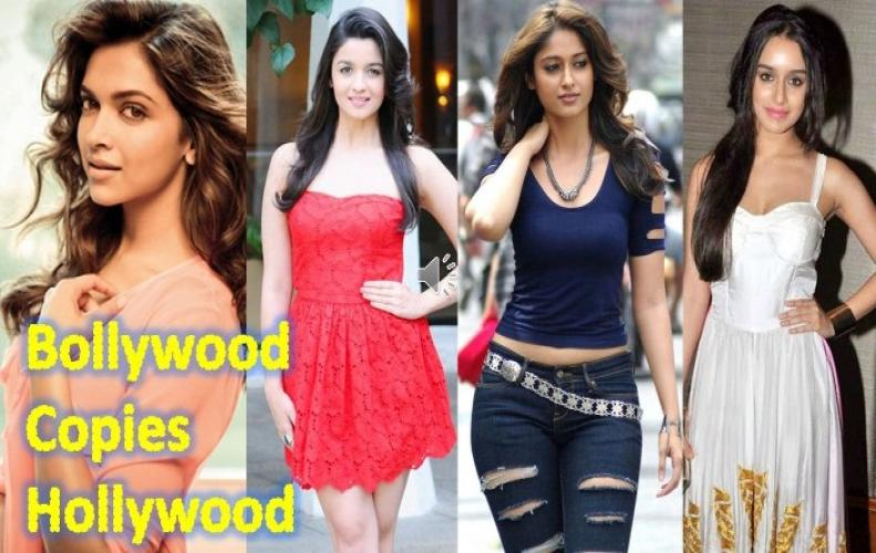 Bollywood Celebrities, who Copied the Outfits from Hollywood Celebrities