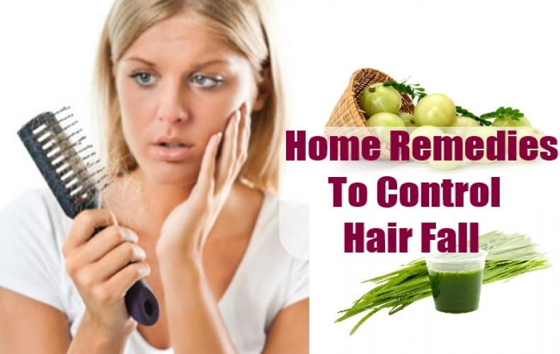 Four Home made remedies to counter Hair-fall using Kitchen Ingredients.