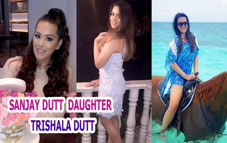 Sanjay Dutt's daughter Trishala Dutt stuns in white bikini is breaking the Internet