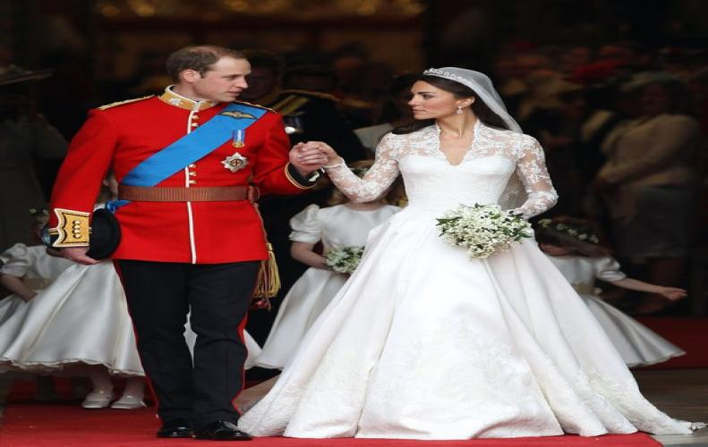 Royal Wedding dresses wore by Royals over the years. Watch Catherine Duchess of Cambridge Marriage