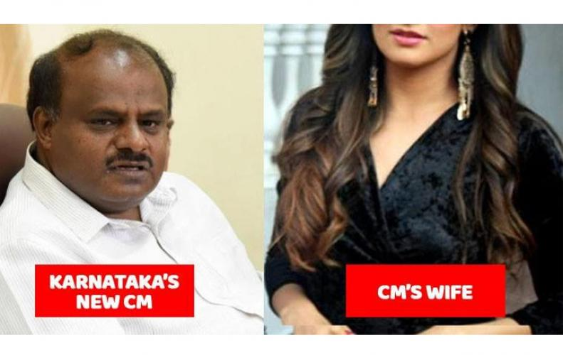 Karnataka CM Jds leader hd kumaraswamy's wife radhika kumaraswamy love story and luxurious life