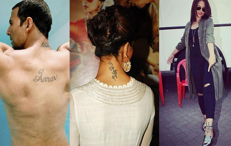Famous Bollywood Celebrities and Celebrity's Signature Tattoos