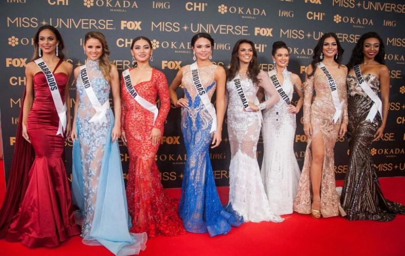 Miss Universe title one among the four international beauty Pageant