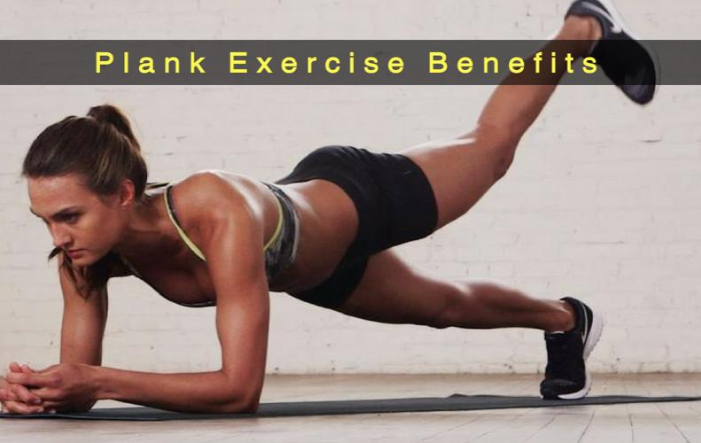 Practice Planks for Better Body Posture. Metabolism and Strong Upper Back Muscles