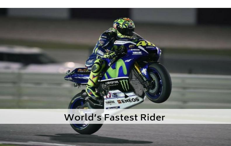 Valentino Rossi Profile - Bio, News & Photos: All You Need to Know