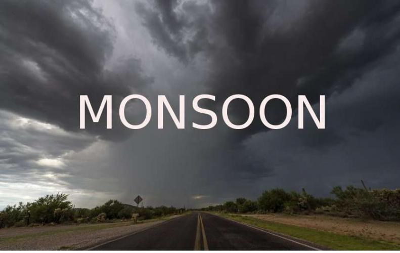 Monsoon in India Expected to Arrive Northern India This week suggests MDI