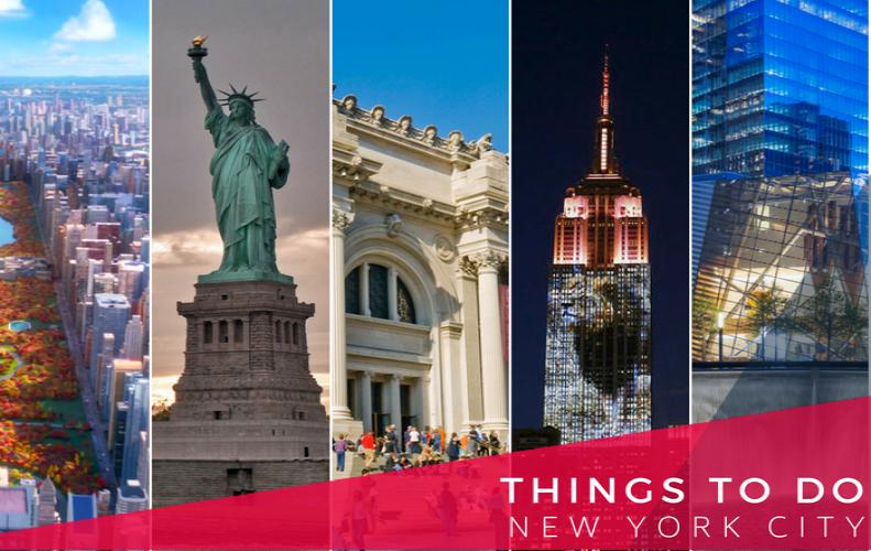 Top 5 Things You can do in New York City USA