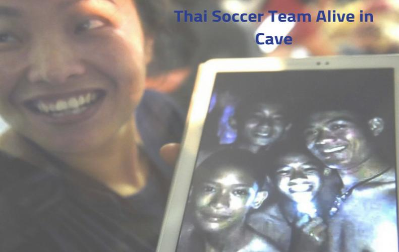 Thai Soccer Team Found Alive in Cave: 9 Days of Struggle
