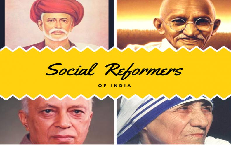 List of Most Famous Social Reformers of India