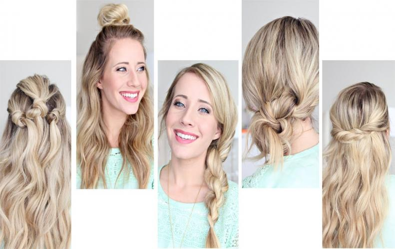 Easy Hairstyles for Women | You Can Even Try Them in Minutes